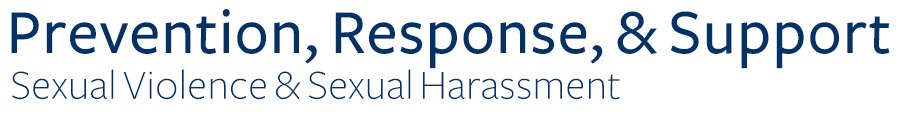 Sexual Harassment & Violence Support & Education